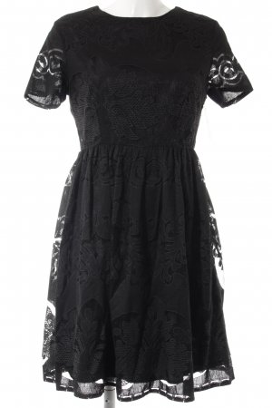 Pepaloves Spitzenkleid schwarz Vintage-Look