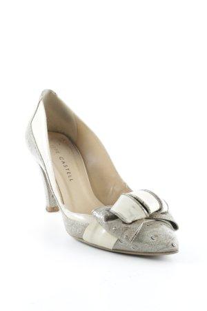 Pepe Castell High Heels abstraktes Muster extravaganter Stil