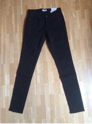 Pepe Hose Jeans schwarz XS S 34 36 27 28 (Neu mit Etikett)