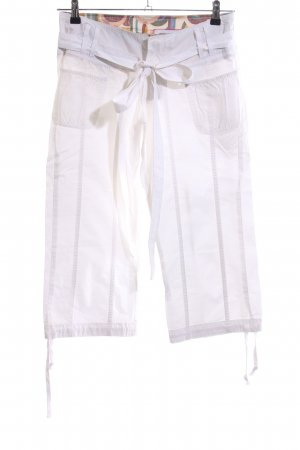 Pepe Jeans 3/4 Length Trousers white casual look