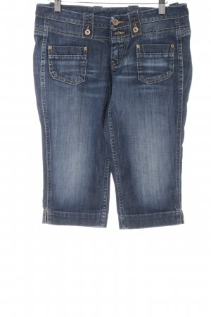 Pepe Jeans 3/4-jeans blauw casual uitstraling