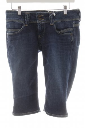 Pepe Jeans 3/4-jeans donkerblauw casual uitstraling