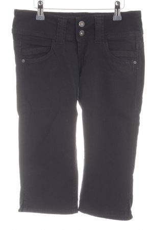 Pepe Jeans 3/4-jeans zwart casual uitstraling