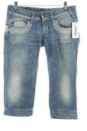 Pepe Jeans 3/4 Jeans kornblumenblau Farbverlauf Casual-Look