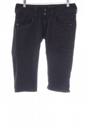 Pepe Jeans 3/4 Jeans schwarz Casual-Look