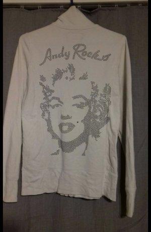 Andy Warhol by Pepe Jeans London Tuta da ginnastica bianco-argento