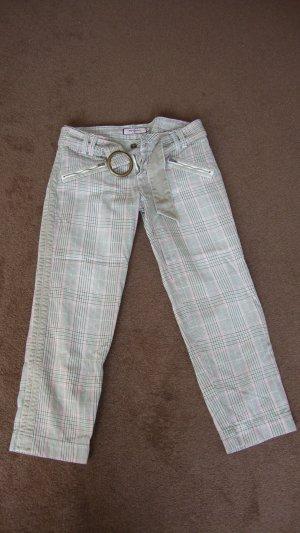 PEPE Jeans 7/8 Hose kariert pink grau 27