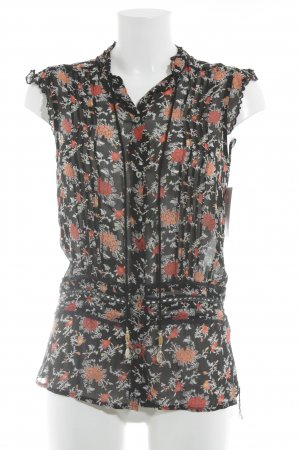 Pepe Jeans ärmellose Bluse florales Muster Casual-Look