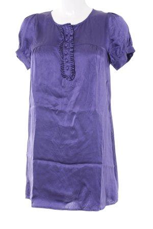 Pepe Jeans Babydoll-jurk blauw-paars romantische stijl