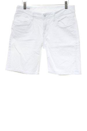 Pepe Jeans Bermuda blanco look casual