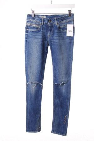 Pepe Jeans Blau Ripped mit Nieten