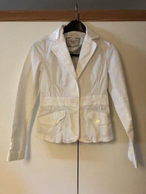 Pepe Jeans Chaqueta estilo camisa blanco