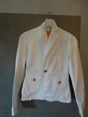 Pepe Jeans Denim Blazer white