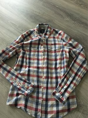 Pepe Jeans Bluse blau rot weiss