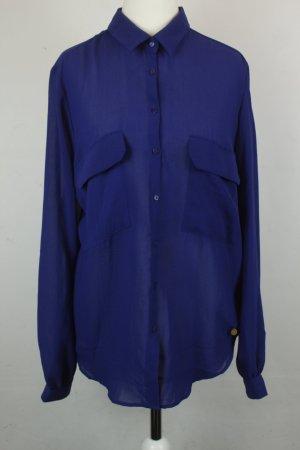 Pepe Jeans Bluse Gr. M blau