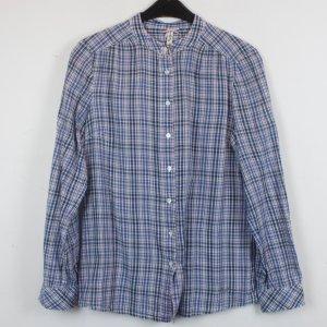 Pepe Jeans Bluse Gr. M blau rot kariert (18/2/290)