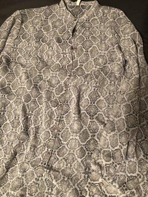 PEPE JEANS Bluse, Größe M/L, Muster in Grautönen