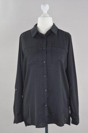 Pepe Jeans Bluse locker geschnitten schwarz Größe S/M