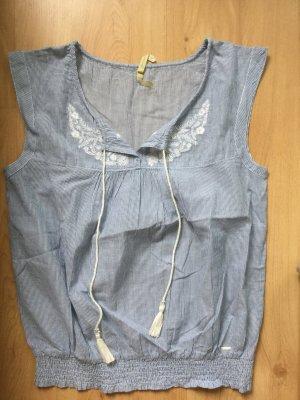 Pepe Jeans Bluse mit Pailletten Größe S