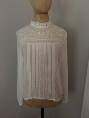 Pepe Jeans Bluse mit Spitze Gr. S top Zustand