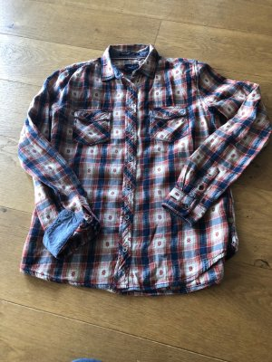 Pepe Jeans Checked Blouse multicolored