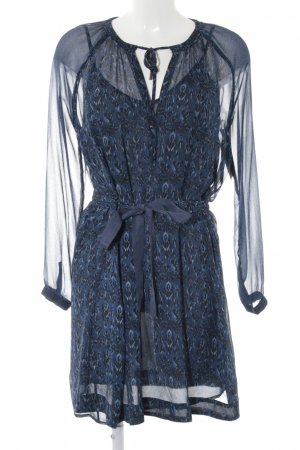 Pepe Jeans Blouse Dress abstract pattern casual look