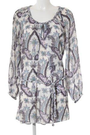 Pepe Jeans Blusenkleid abstraktes Muster Gypsy-Look