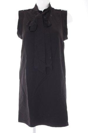 Pepe Jeans Blusenkleid schwarz schlichter Stil