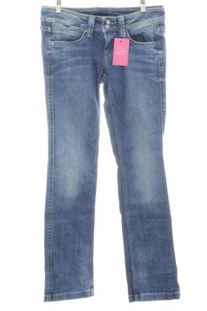Pepe Jeans Boot Cut Jeans neonblau Farbverlauf Casual-Look