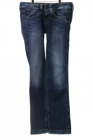 Pepe Jeans Boot Cut Jeans blau Casual-Look