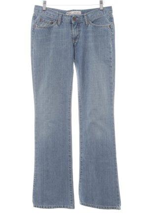 Pepe Jeans Boot Cut Jeans blau meliert Casual-Look