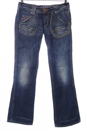 Pepe Jeans Jeans svasati blu stile casual