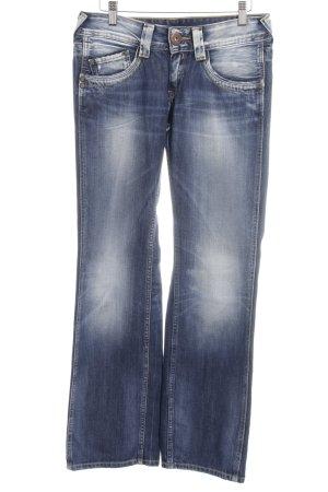 Pepe Jeans Boot Cut Jeans dunkelblau schlichter Stil