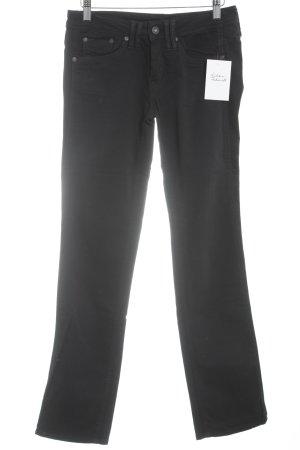 Pepe Jeans Jeans bootcut noir Look de motard