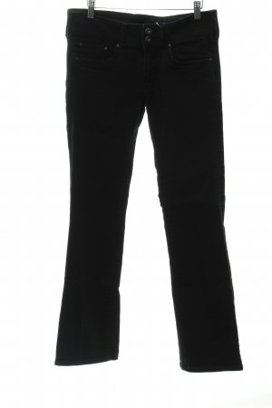 Pepe Jeans Boot Cut Jeans schwarz Business-Look