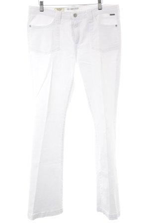 Pepe Jeans Boot Cut Jeans weiß minimalistischer Stil