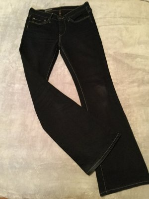 Pepe Jeans Vaquero de corte bota azul oscuro