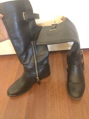 Pepe Jeans Laarzen met hak zwart-goud