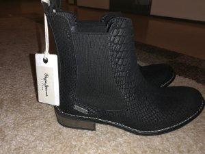 Pepe Jeans Laarzen zwart