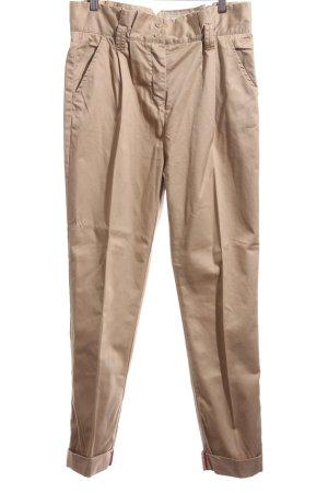 Pepe Jeans Bundfaltenhose braun Business-Look