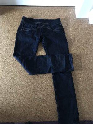 Pepe Low Rise Jeans dark blue