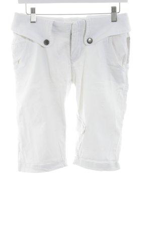 Pepe Jeans Cargohose weiß schlichter Stil