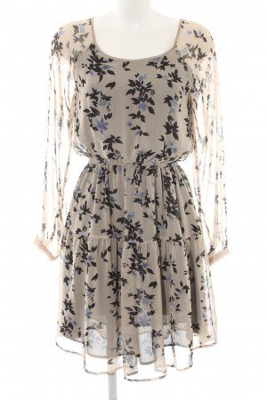 Pepe Jeans Chiffonkleid florales Muster Casual-Look