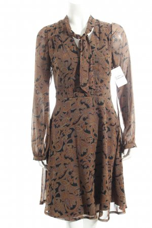Pepe Jeans Chiffonkleid Paisleymuster Retro-Look
