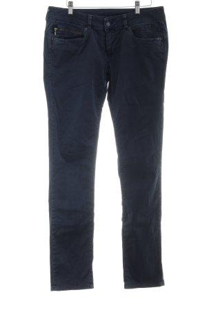 Pepe Jeans Chinohose dunkelblau Casual-Look