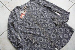 Pepe Jeans Damen Bluse Gr. 32/34 (XS), Grau/Blau *NEU* NP:99,90€
