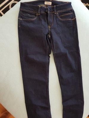 Pepe Jeans Damen Jeans New Brooke Größe: 27W / 32L | Farbe: Blau (Denim M15)