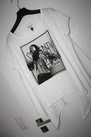 Pepe Jeans Damen T-Shirt PL501266 GEN, Gr. XS, Weiß