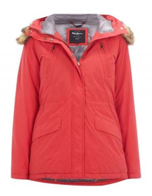 Pepe Jeans Down Jacket red