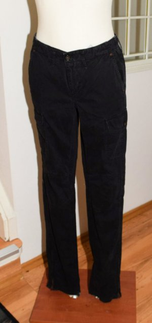 Pepe Jeans Gr. 27/34, schwarz, Gr. S, Bardot, Cargo